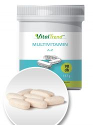 Multivitamin A-Z tabletta 90 db